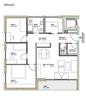 gartenstra e 105 moderne und zentral gelegene 4 zimmer wohnung wohnung albstadt 2xhl63q. Black Bedroom Furniture Sets. Home Design Ideas