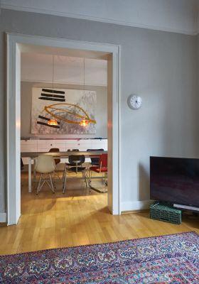 Wohnzimmer Übergang Esszimmer
