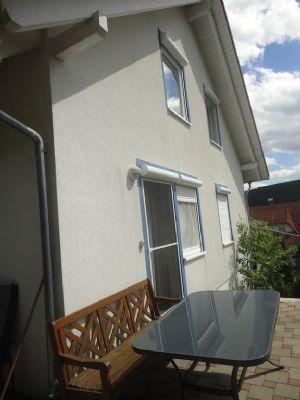 Seitenansicht Terrasse von Küche aus