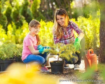 Genießen Sie Ihren eigenen Garten