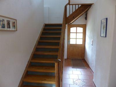 Treppe EG/1.OG Hauseingangstüre