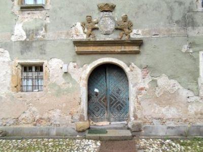 Eindrucksvolles Eingangsportal