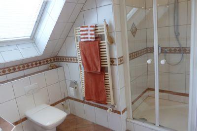 Zusätzliche Dusche