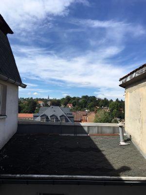 Blick aus dem Küchenfenster Richtung Pößneck Nord
