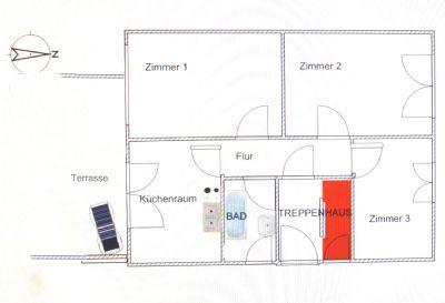 Bad Vilbel-Dortelweil - S-Bhf.-Nähe - 3ZKB - gute Lage - sofort frei - provisionfrei - NUR BEFRISTET für 2-3 Jahre zu verm.