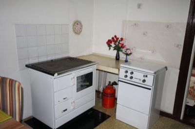 Ofen und Herd in der Küche