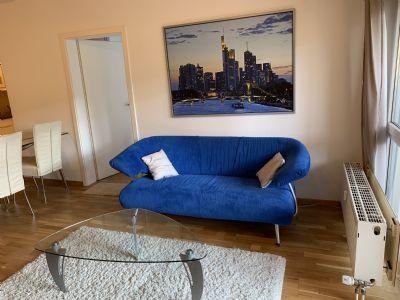 2 Zimmer Wohnung in Frankfurt gegenüber der EZB, voll möbliert - die Alternative zum Hotel