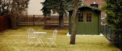 Großer Garten optional mit Gartenhaus