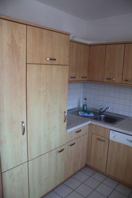 Küche einer 3-Raumwohnung