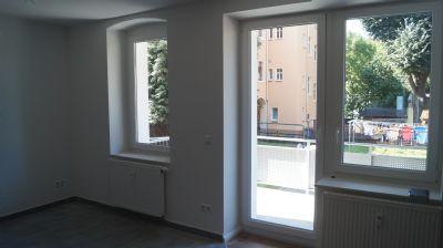 Blick Wozi Küche Richtung Balkon