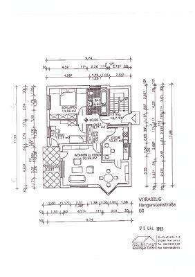 Gemütliche 3 Zimmerwohnung mit großer Terrasse in Kassel