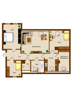 zw schwarzenbek geesthacht wohnen auf ber 120qm etagenwohnung g lzow 2mb244b. Black Bedroom Furniture Sets. Home Design Ideas
