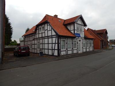 Hoya-Stadt ruhig Wohnen und Arbeiten   200 qm Gewerbe und Wohnung mit Garten