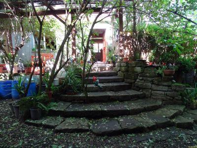 Eingangsbereich mit Natursteinen