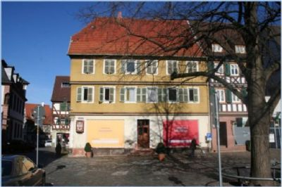 Bestandsimmobilie (Ansicht vom Marktplatz)
