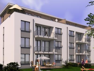 der rohbau steht wohnungen mit balkon aufzug kfw 55 wohnung hattingen 27evl4k. Black Bedroom Furniture Sets. Home Design Ideas