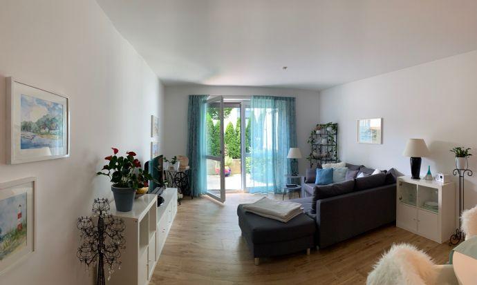 Modern-elegante 2-Zi.Whg. inkl. Design-Küche und Terrasse