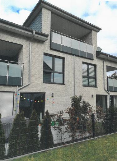 Moderne Neubauwohnung mit Südbalkon in Wewer