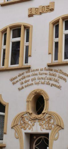 Jugendstilhaus im Burgenlandkreis