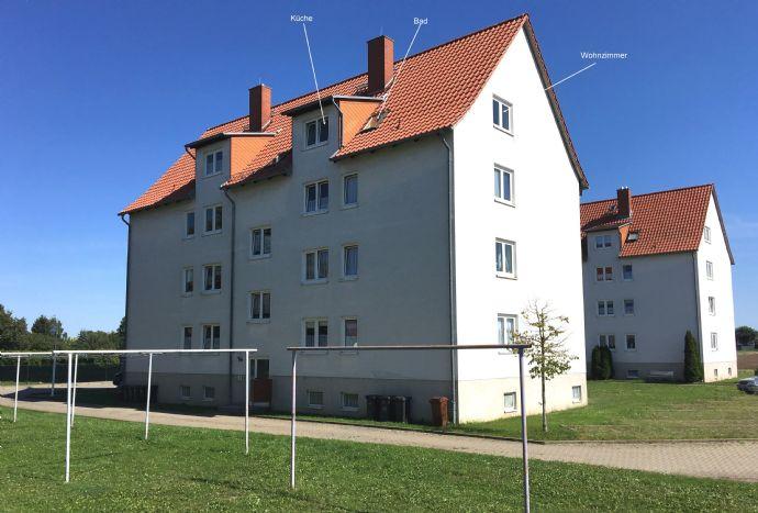 Nette 3-Raum-Wohnung in Frose, Stadt Seeland