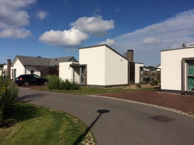Neue und moderne Dünenvilla mit Fußbodenheizung, Sprudelbad, Brötchenservice u. gratis WLAN - strandnah