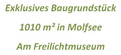 Exklusives Baugrundstück in Molfsee am Freilichtmuseum