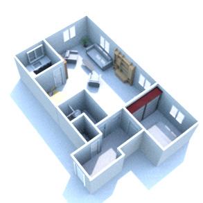 Großzügige 2-Zimmer DG Wohnung