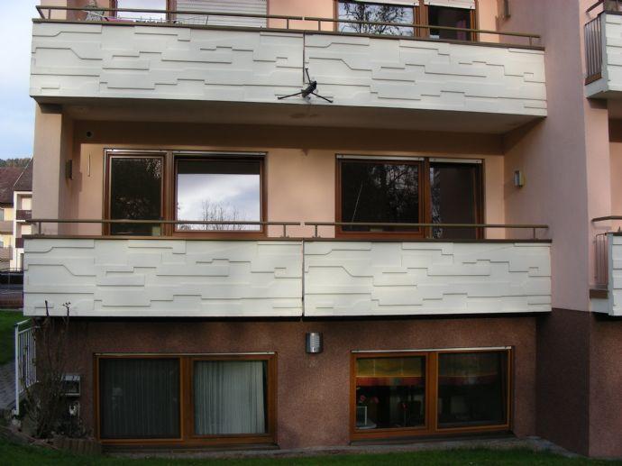 2-Zimmer-Wohnung mit Balkon - direkt am Kurpark