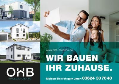 """Baugrundstück für ein Einfamilienhaus in Wutha-Farnroda im Baugebiet """"Am Rehberg"""""""