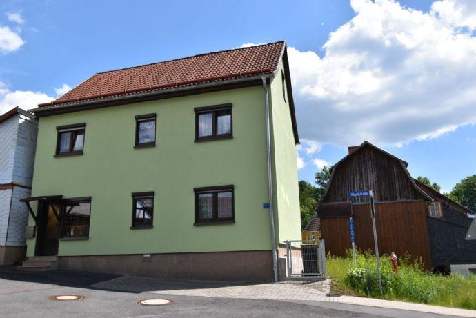 Freistehendes Einfamilienhaus