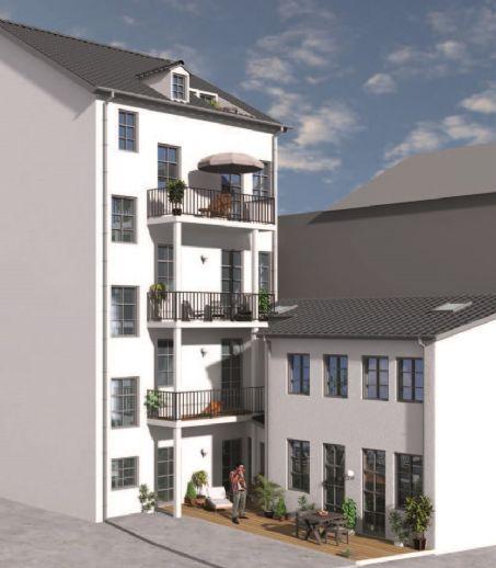 !!!SOFORT FREI / VERMIETBAR!!! Einzigartiges Stadthaus WE 1 in Zentraler Lage in Fürth