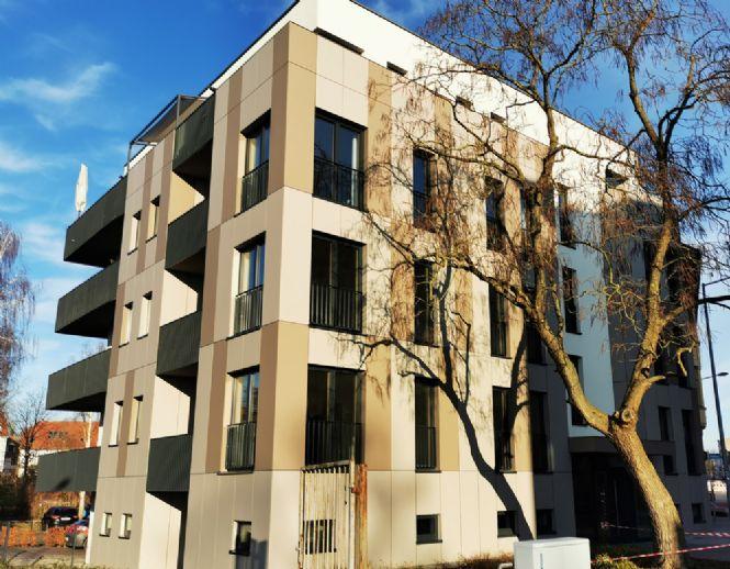 Zentral - Komfortable Neubauwohnung unweit des Stadtzentrums mit schönem Balkon