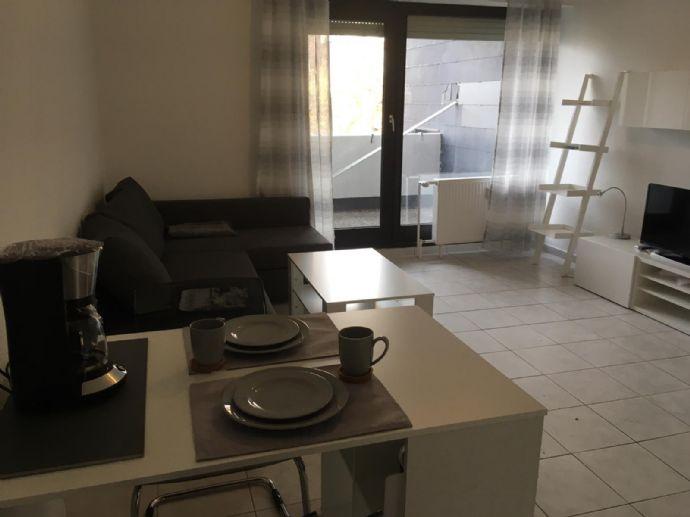 Wohnen auf Zeit - oder länger - statt Hotel! Voll möblierte und komplett ausgestattete 1-Zimmer-Wohnung, 450 € KM zzgl. NK