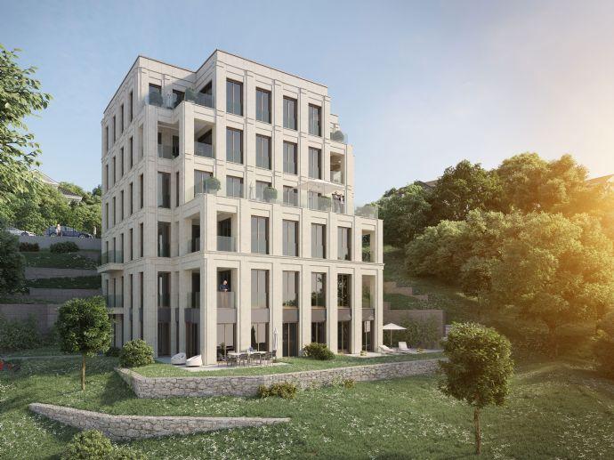 Hochwertig und modern ! Große 2-Zimmer-EG-Wohnung im Zentrum Wiesbadens