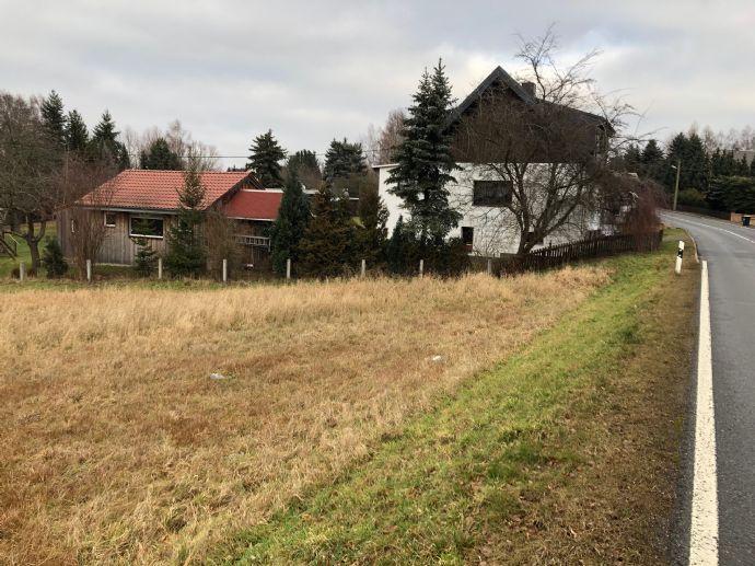 Baugrundstück in schöner Lage in Hainichen Ortsteil Gersdorf