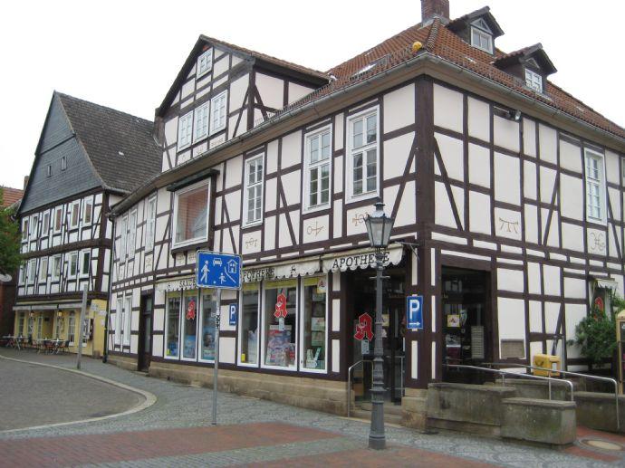 Gebäudeareal am Marktplatz von Hofgeismar