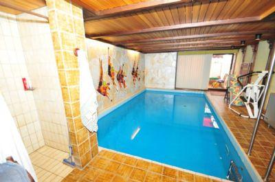 ++ 254 m² viel Platz für Wohnen und Arbeiten - Fernblick, Galerie, Sauna, Pool, Wintergarten u.v.m. ++