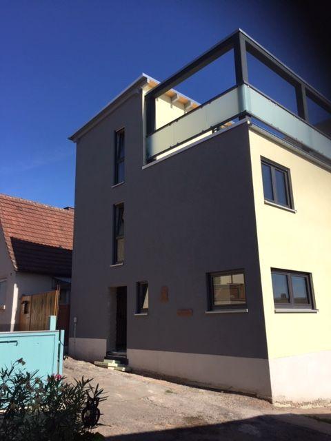 Erstbezug, Neubau, große Dachterrasse 4 ZKB-Wohnung in ruhiger Lage