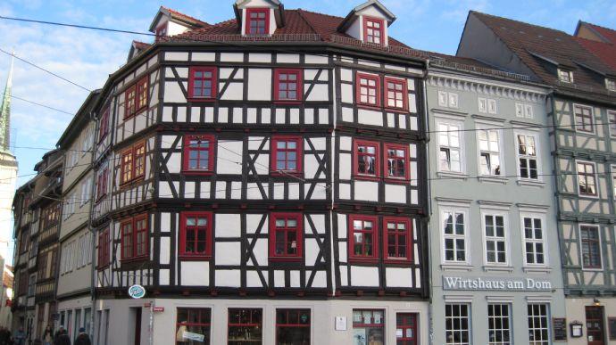 all inclusive Ferienwohnung direkt am Domplatz in Erfurt ab sofort zu vermieten!