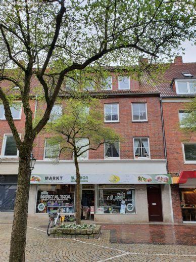 3 Zimmer Wohnung in Emden (Stadtzentrum)