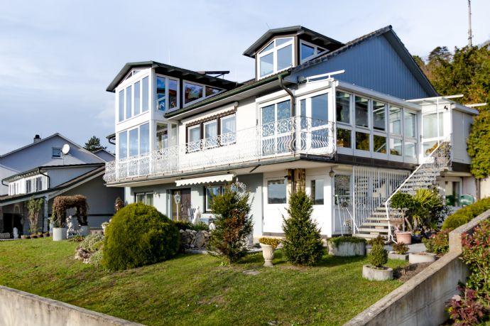 Einfamilienhaus in ruhiger, idyllischer Südhanglage mit Panoramablick