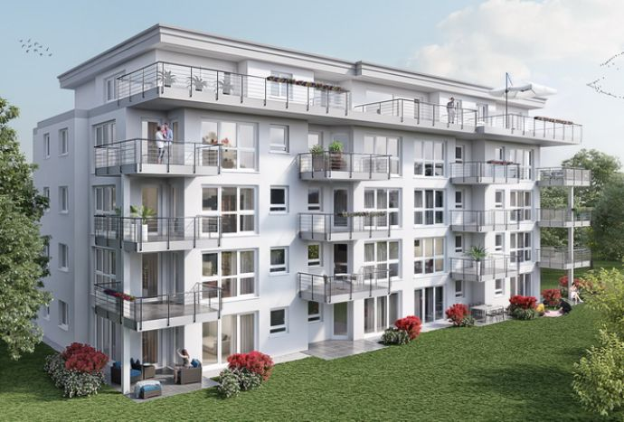 Starten Sie mit der ersten eigenen Immobilie - den Garten gibt es dazu !