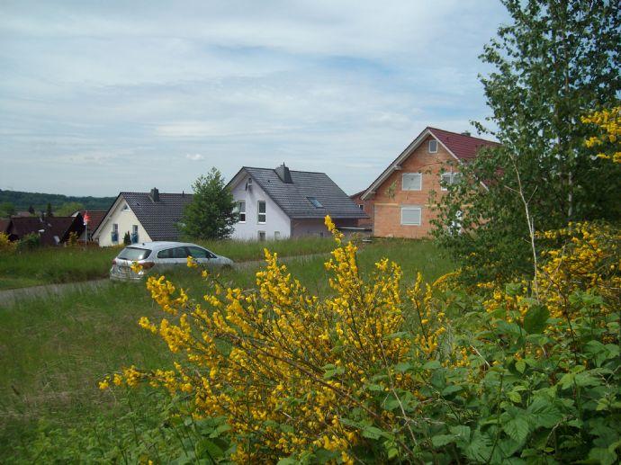 Grundstück in ruhiger Wohnlage mit Schloßblick