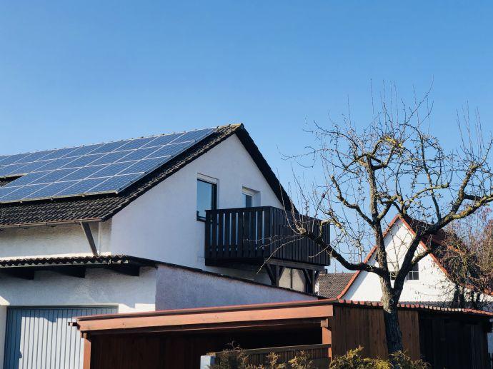 3,5 Zimmer-Dachgeschosswohnung in Hohenwart zu vermieten!