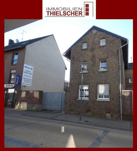 Attraktives Grundstück mit Bauten und unterschiedlichen Nutzungsmöglichkeiten im Zentrum von Baesweiler