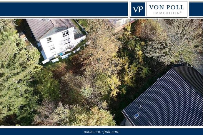 898 m² großes Hang-Baugrundstück Im