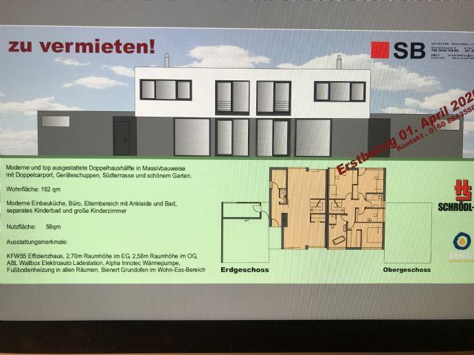 Moderne und top ausgestattete Doppelhaushälfte in Oberreichenbach