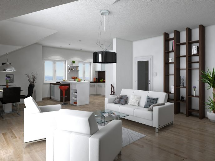 Klasse Wohnung - Barrierefrei- 3 Zi.-Whg im DG li - Penthousecharakter